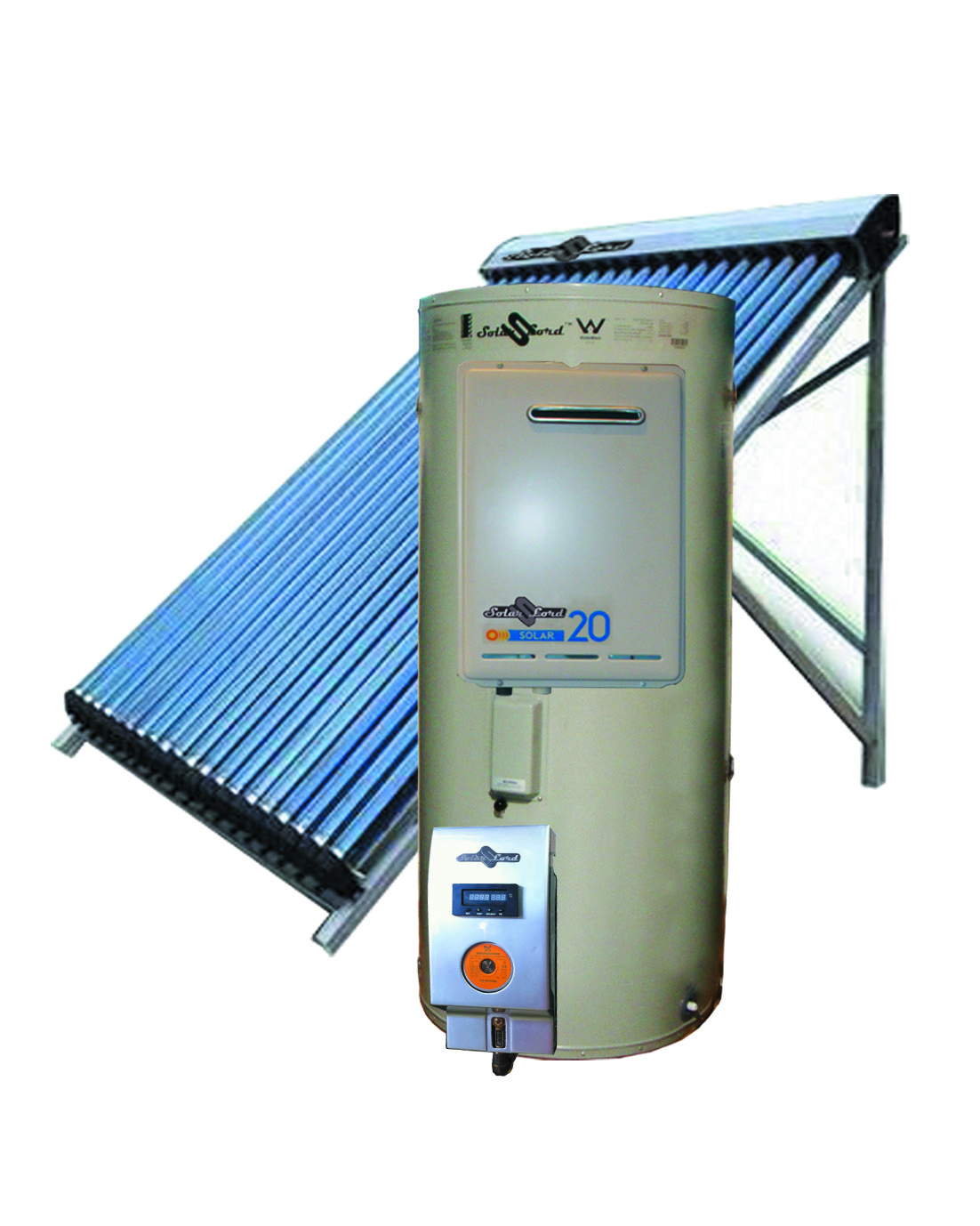 Water on demand water heaters for radiant heat and for Domestic hot water heaters